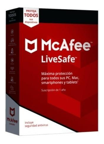 Antivirus Mcafee Livesafe Pc / Original 2 Años