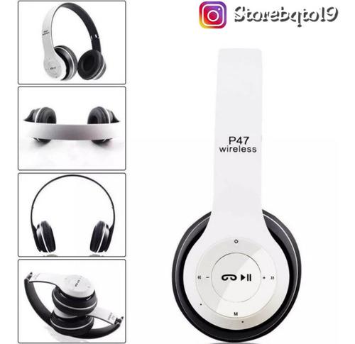 Auriculares Inalámbricos Bluetooth Radio Fm P47