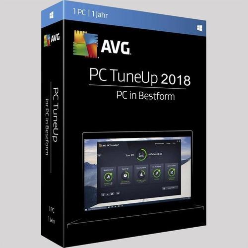 Avg Pc Tuneup  Original Con Licencia Permanente