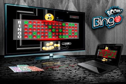 Bingo Boom Software Profesional  Cartones Y Más