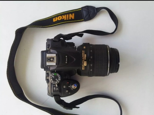 Camara Nikon D Wifi Gps Con Flash Forro Memoria Sd 64gb