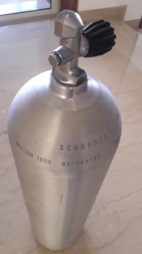 Cilindro / Bombona De Aluminio Para Buceo, Scuba S80