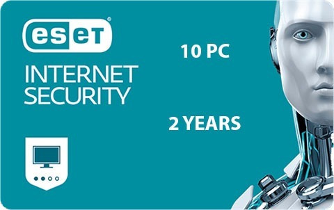 Eset Internet Security 10pc 2 Años Descarga Digital Eset