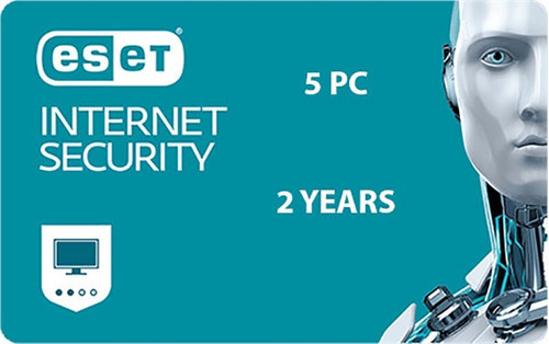 Eset Internet Security 5pc 2 Años Descarga Digital Eset