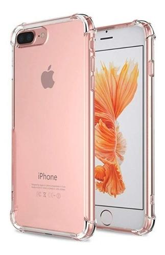 Forro iPhone 6 Y 6 Plus + Transparente Con Esquina Reforzada
