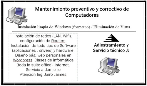 Mantenimiento De Pcs A Domicilio, Software Sis