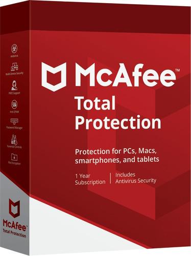 Mcafee Total Protection  Dispositivos Ilimitados