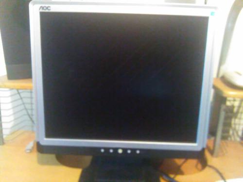 Monitor Lcd Aoc 15 Pulgadas Con Detalles En Display