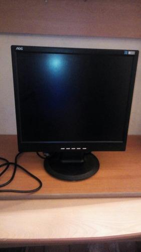 Monitor Lcd De 17 Marca Aov Usado