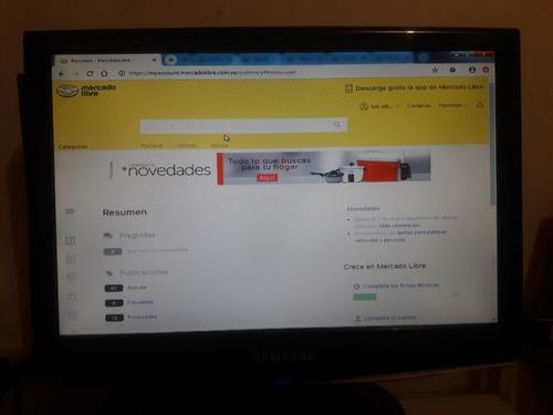 Monitor Samsung 17 Como Nuevo 100% Operativo (en Valencia).