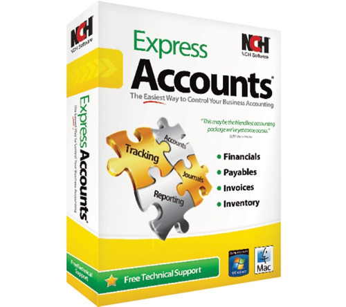 Nch Express Accounts, Software Contable