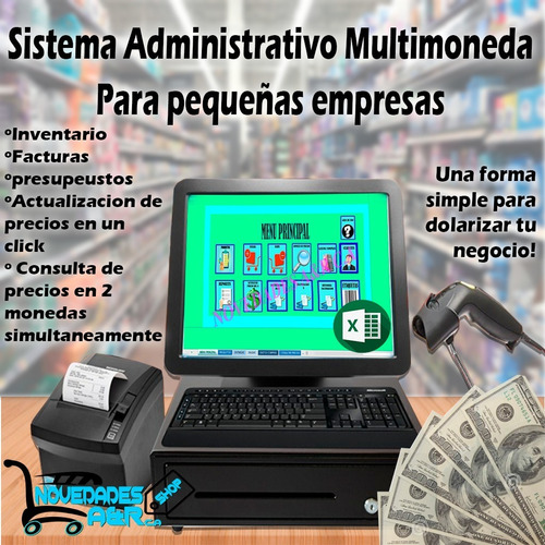 Programa Administrativo Multimoneda Inventario Excel
