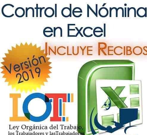 Programa De Nomina Excel, Recibo, Deducciones Segun Lot