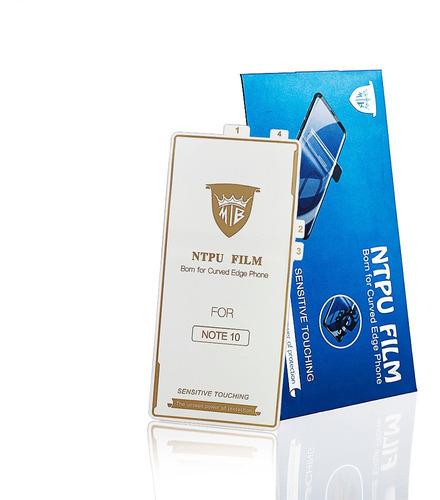 Protector De Pantalla De Gel Grado Militar Samsung Note 10+