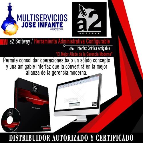 Sistema Administrativo A2 Softway H.a.c+p.d.v Licencia