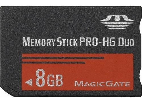 Tarjeta Memoria Memory Stick Pro Duo 8gb Sony Psp Camaras