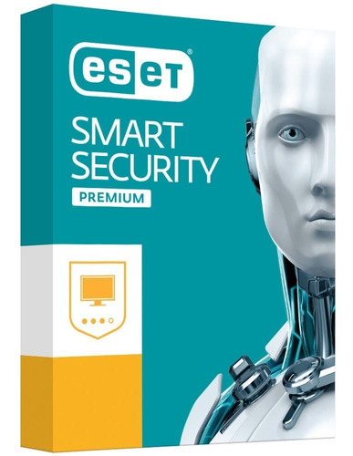 Twopack Antivirus Eset Smart Security Nod año/1pc