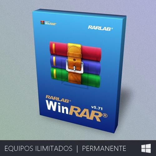 Winrar Compresor De Archivos - Ilimitado | Permanente