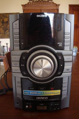 Equipo De Sonido Marca Sony Modelo Genezi Hcd-gt444