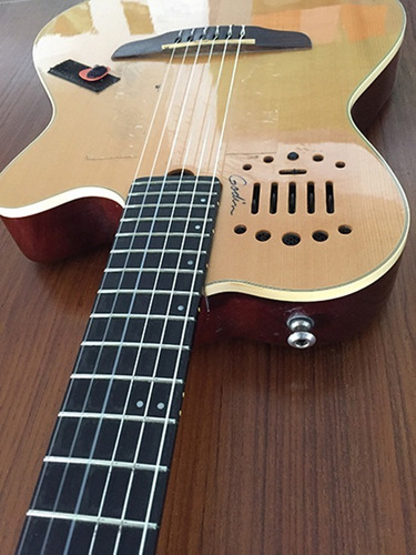 Guitarra Godin Multiac Nylon Duet Ambiance + Gig Bag