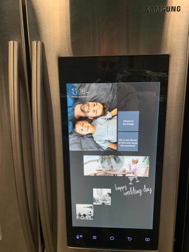 Nevera Samsung Con Pantalla