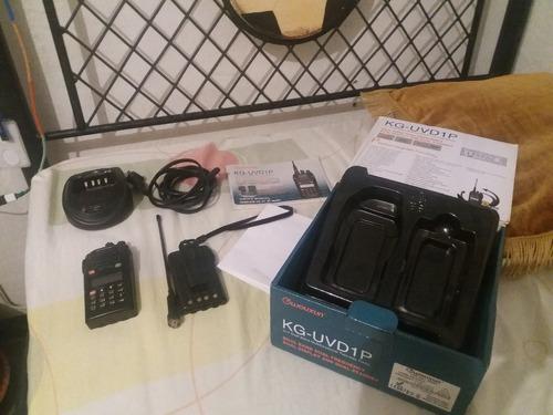 Radio Wouxun Kg-uvd1p Dual Bands Dual Display