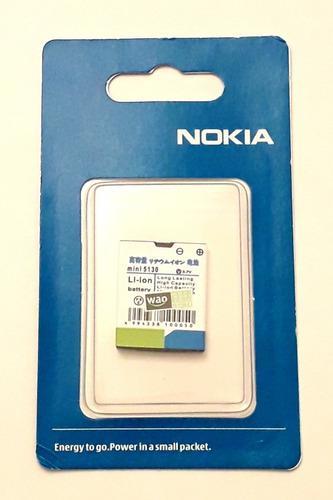 Bateria Pila Nokia Mini 5130 Original ($3,5) Tienda Fisica