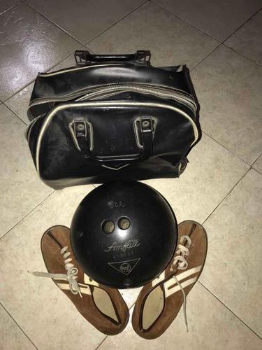 Bola De Bowling Con Zapatos #39 Y Estuche