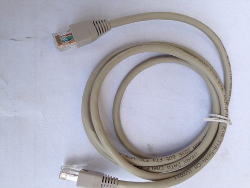 Cable Patch Cord 1.48 Mts Rj45 Red Rj45 Utp N-5 Internet ***