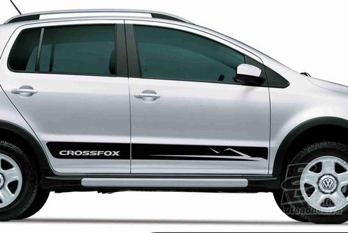 Calcomania Crossfox Volkswagen Laterales