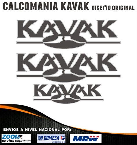 Calcomanias Kavak Diseño Original. Kit De 3 Unidades.