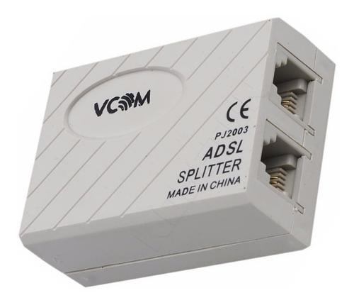 Filtro Adsl Splitter Telf Internet Aba Punto Vta 4 Unidades