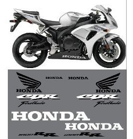Kit Completo Calcomanias Moto Honda Cbr  Rr Año
