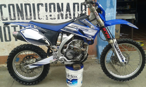 Kit De Calcomanias Para Yamaha Wr F  Del  A