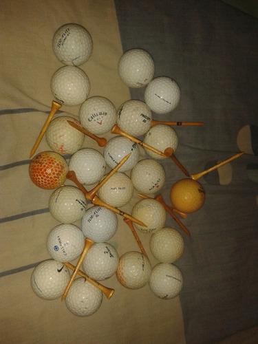 Pelotaa De Golf Usadas En Perfecto Estado Foto Real