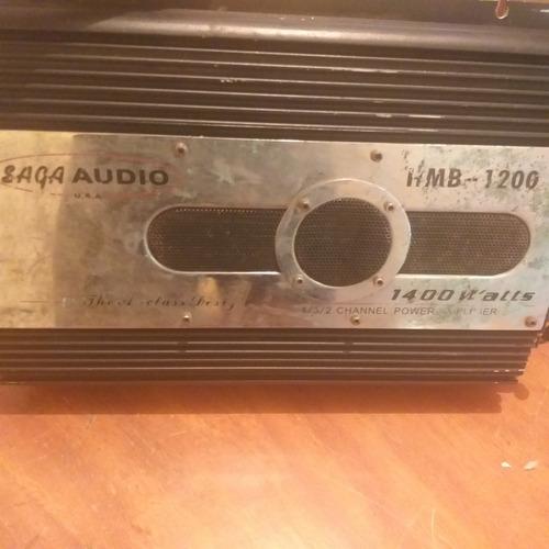Planta De Sonido Carros Saga Audio Mb-w 58v