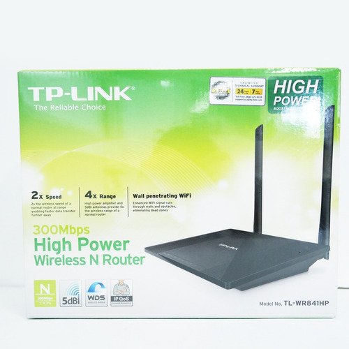 Router Inalámbrico Tp-link 300mbps Tl-wr841hp -- Solvoca