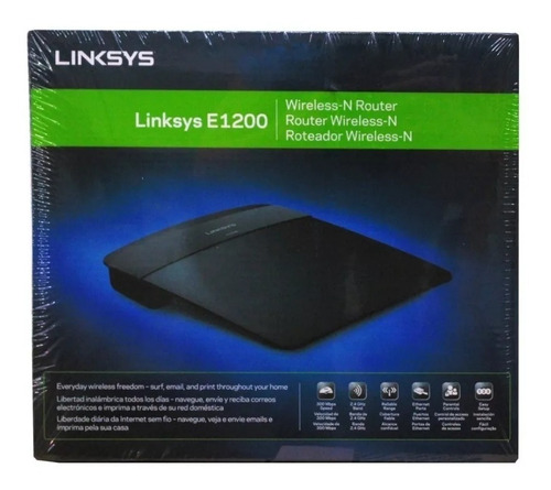 Router N300 Linksys E900 Inalámbrico