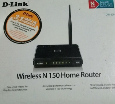 Router Wifi D Link Internet Dir 600 N150 Red 1 Antena (new)