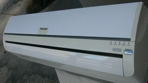 Aire Acondicionado Split Panasonic 24.000 Btu Combo