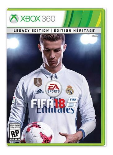 Fifa 18 Juego Para Xbox 360 Totalmente Original