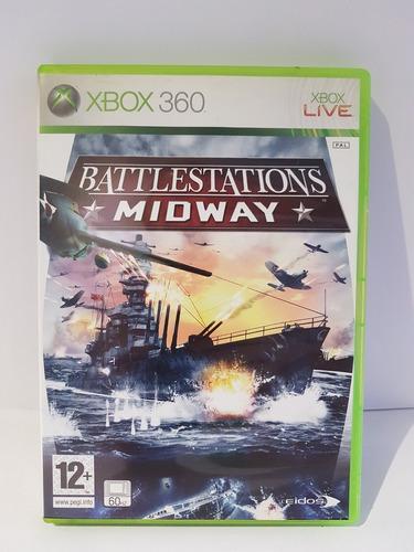 Juego Original Para Xbox 360 Elite Battlestations Midway