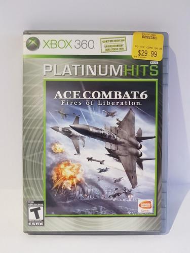 Juego Para Xbox 360 Elite Original Ace Combat 6