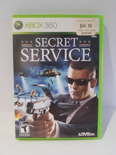Juego Para Xbox 360 Elite Original Secret Service