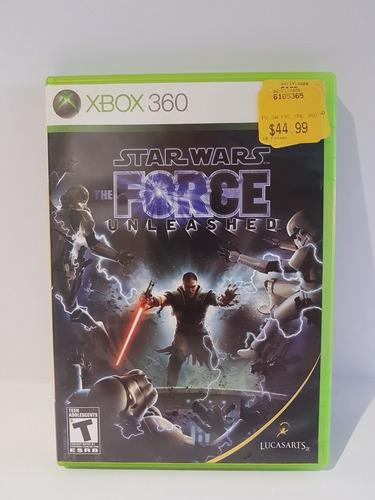 Juego Para Xbox 360 Elite Original Star Wars The Force