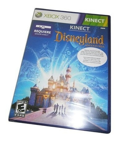 Juego Para Xbox 360 Kinect Disneyland Adventure