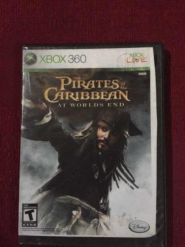 Juego Para Xbox 360 Original Piratas Del Caribe