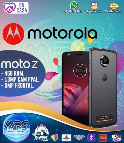 Motorola Moto Z 4gb Ram Cámara 13mp + Accesorios