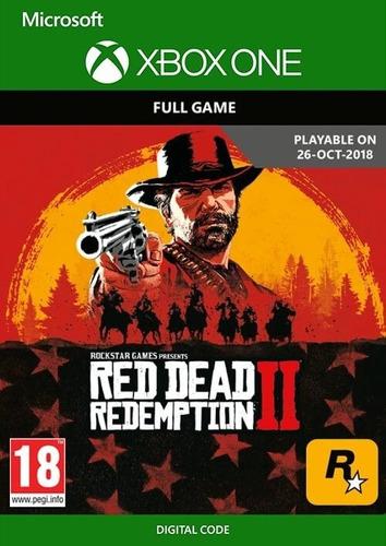 Red Dead Redemption 2 Xbox One Código Digital