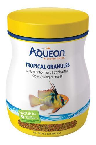 Alimento Granulado Peces Tropicales Aqueon 184 Grs